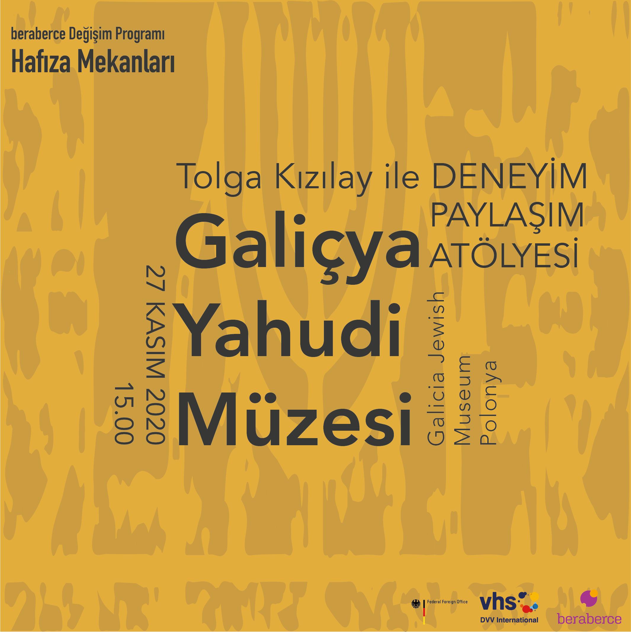 Deneyim Paylaşım Atölyesi: Galiçya Yahudi Müzesi