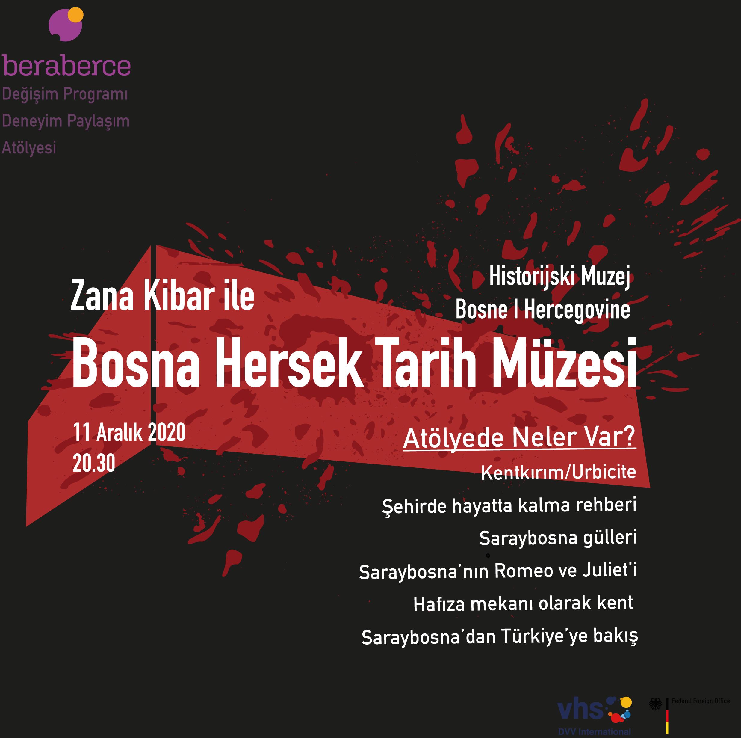 Deneyim Paylaşım Atölyesi: Bosna Hersek Tarih Müzesi