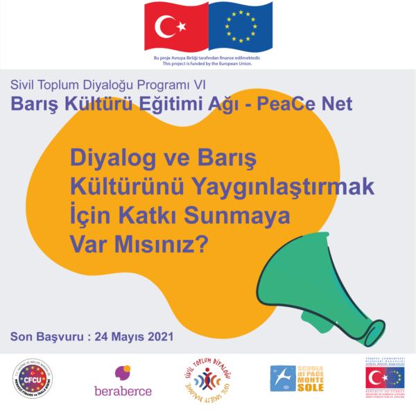 Barış Kültürü Eğitimi Ağı - PeaCE Net için Çağrı