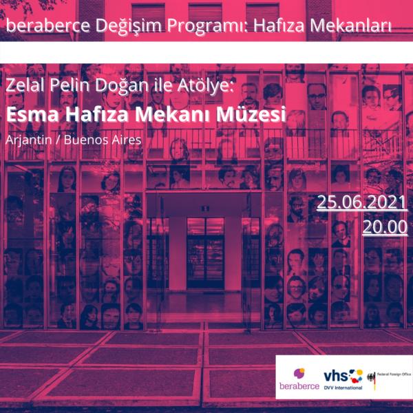 Deneyim Paylaşım Atölyesi: Zelal Pelin Doğan ile Esma Hafıza Mekanı Müzesi